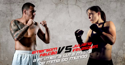 Emerson Falcao and Juliana Valesquez MMA Brazil