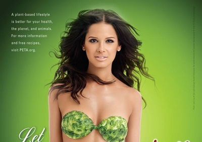 Rocsi Diaz Goes Pro Vegetarian in Peta Holiday Campaign