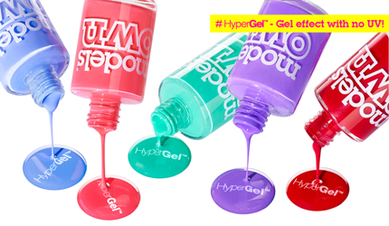 Models Own Offers 50% Off the HyperGel Collection
