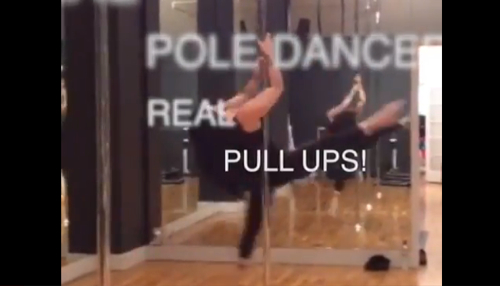 Dear Marine Corps: Pole Dancers Can Pull-Up