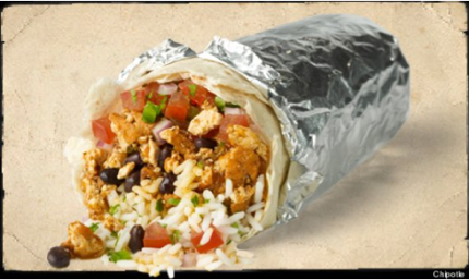 Chipotle Vegan Burrito