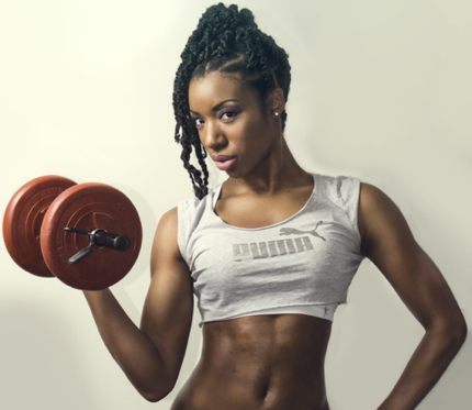 Grunty Girl of the Week: Chrissy K. Fit Spreads Workout Sunshine