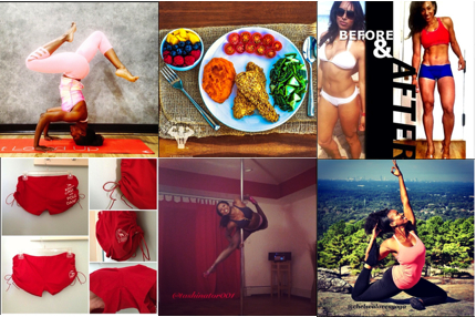 Fitstagram Love: 6 Instagram Fitness Accounts to Follow For Inspiration