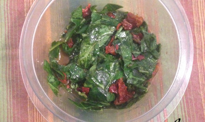 Collard Greens the Remix: Eat Them Raw