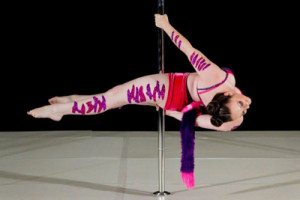 Grunty Crush of the Week: Danielle Christine Gets Poleitical With Aerial Arts