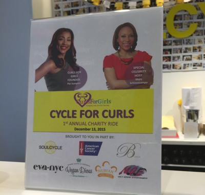 Cycle For Curls: Soul Cycle Meets Charity In The Name Of Lost Hair