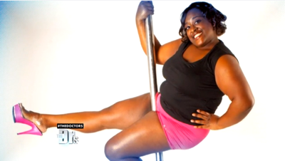 Roz Mays 'The Diva' Is Definitely Not Too Fat For Fitness